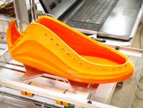 IN 3D đôi dày bằng nhựa dẻo