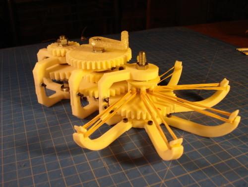 in 3D bánh răng , in 3D bạc đạn, in 3D mô hình lắp ghép