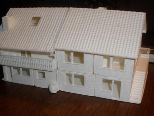in 3D mô hình kiến trúc, in 3D ngôi nhà đẹp, in 3D xây dựng, in 3D nhà cửa nội thất
