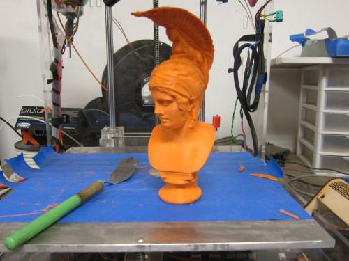 in ảnh 3D - in tượng 3D - in 3D tượng bán thân