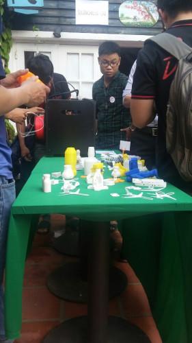 Trình diễn ứng dụng in 3D tại sự kiện SADC