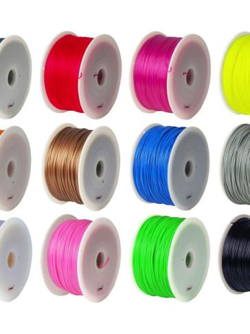 Sợi nhựa in 3D ABS - PLA giá rẻ, đảm bảo chất lượng in đẹp !