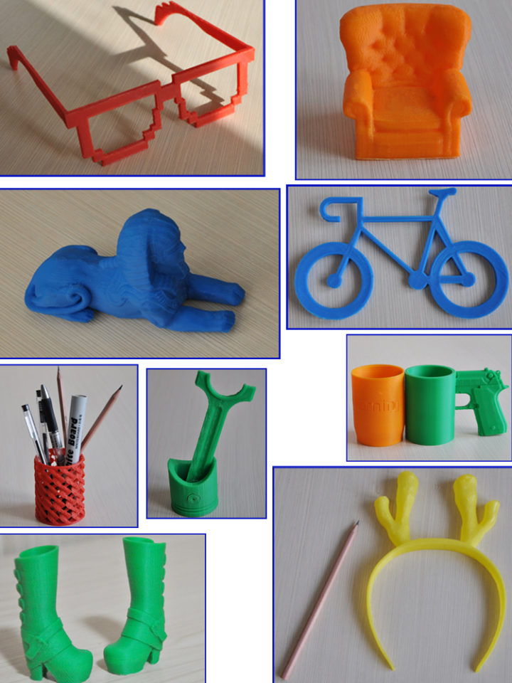 Khóa học in 3D san pham in 3D co ban