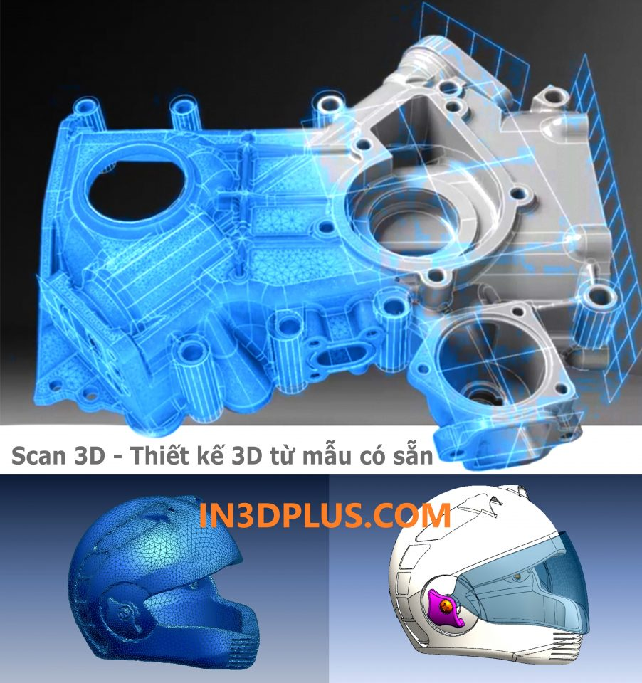scan3D NÓN BẢO HIỂM, REVER ENGINEERING 3D block machine