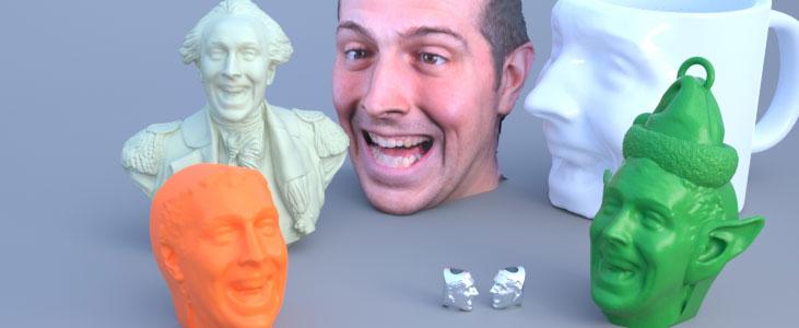in3DPlus đang sử dụng giải pháp in 3D để tạo tượng chân dung rất thú vị này.