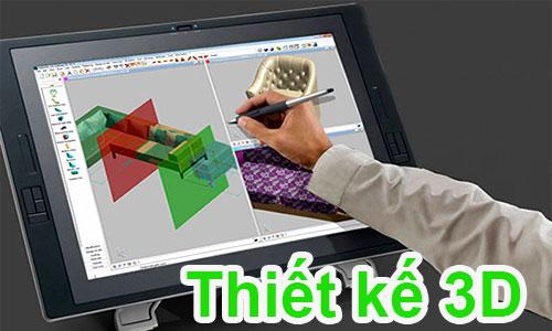 Thiết kế 3D – Tạo dáng công nghiệp – Vẽ mẫu 3D