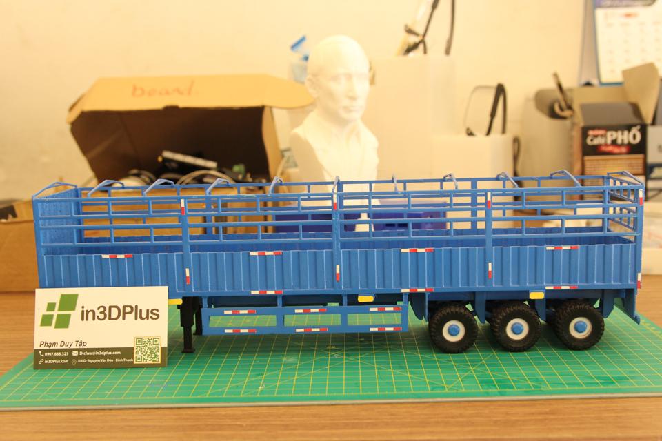 Tạo mẫu 3D mô hình xe rơ-móc Tân Thanh in 3D container tao mau 3d mo hinh xe do choi (1)