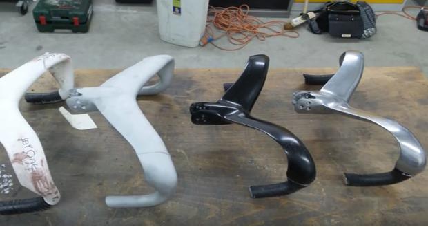 in 3D kim loại xe dap