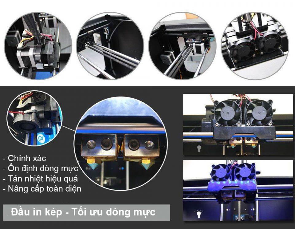 Đầu phun máy in 3D QiDi