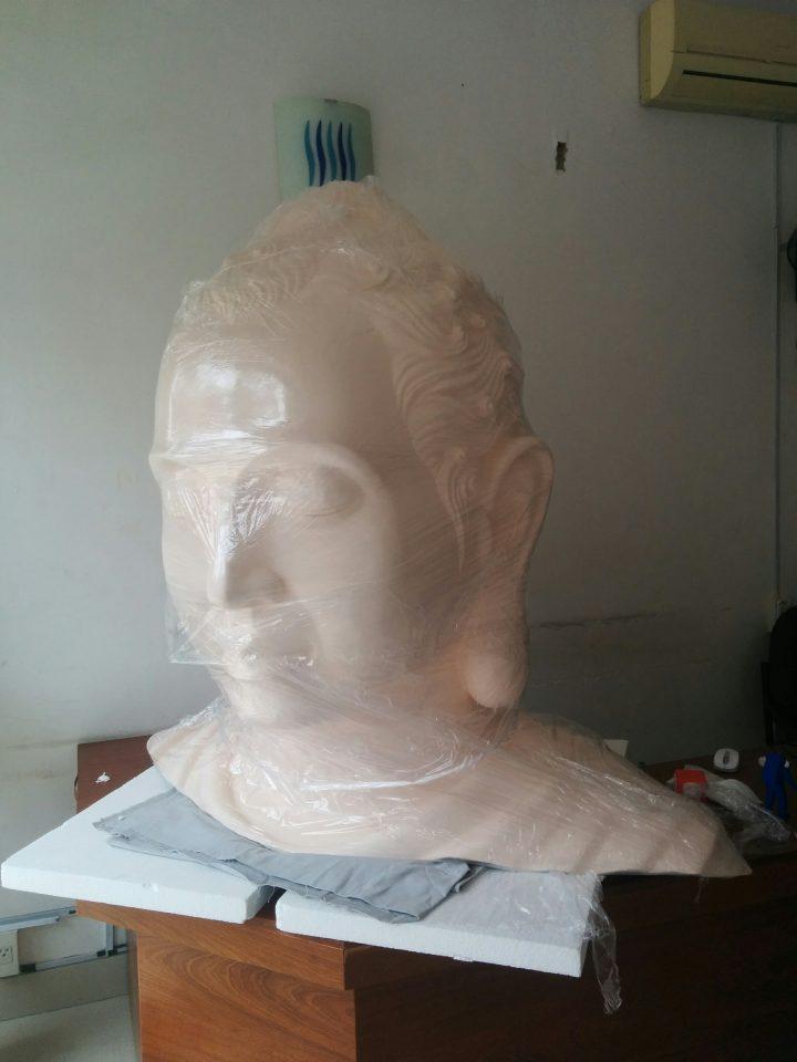 Scan 3D bức tượng Phật khổng lồ