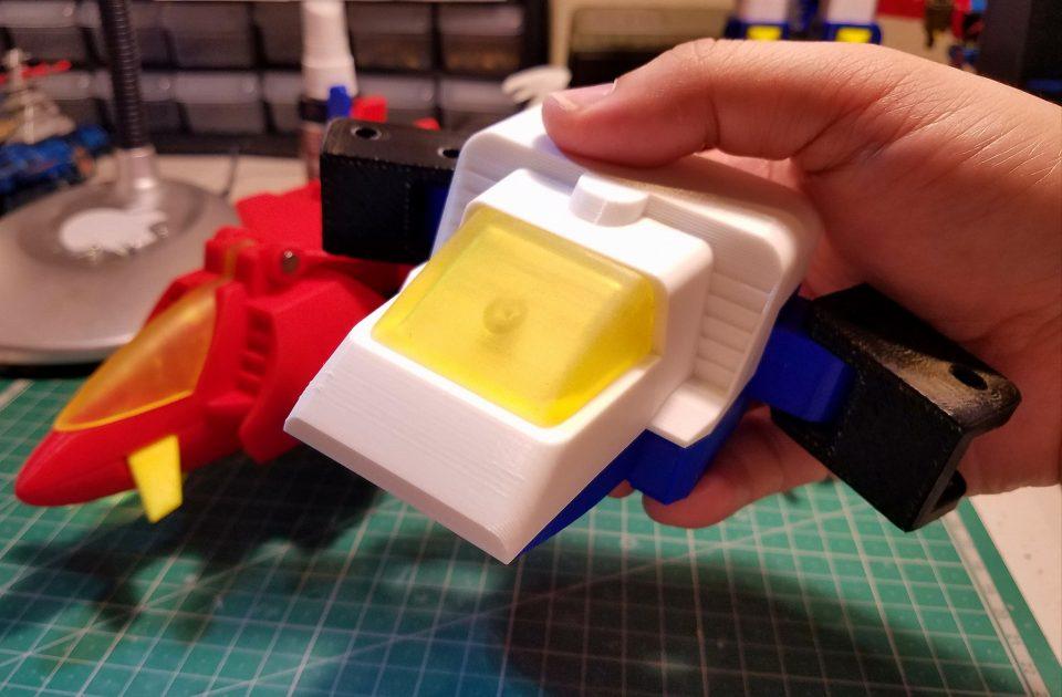 Mẫu in 3d mô hình đồ chơi bằng nhựa