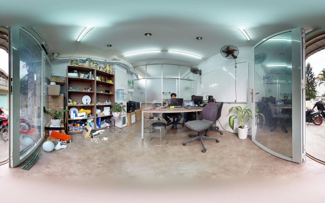 Thử nghiệm chụp ảnh 3D – tạo video VR 360 tại shop 3D+
