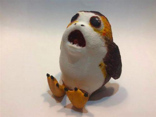 Khám phá 10 mẫu Porg 3D độc đáo lấy cảm hứng từ Star Wars