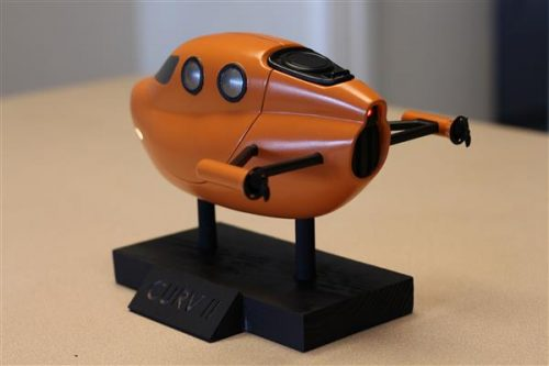 Chiếc tàu ngầm 3D từ nét vẽ thời thơ ấu