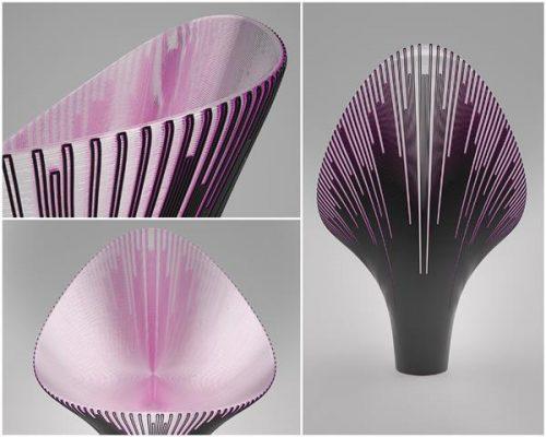 Những chiếc ghế in 3D vô cùng lạ tại tuần lễ thiết kế Milan