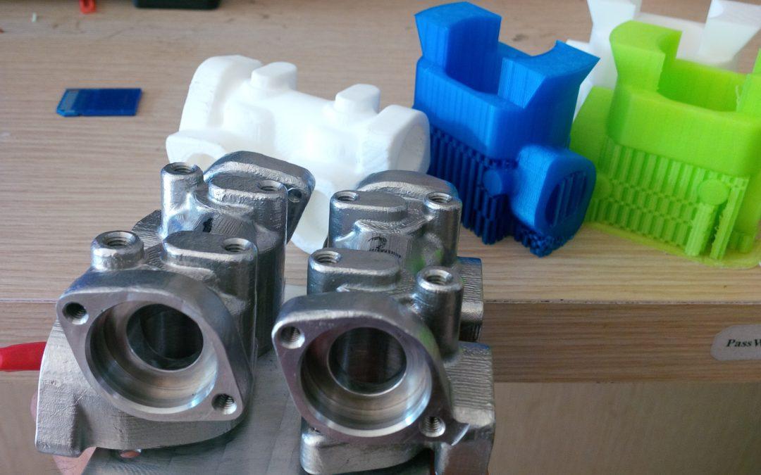 Kỹ thuật đúc mẫu cháy kim loại từ phôi nhựa in 3D PLA