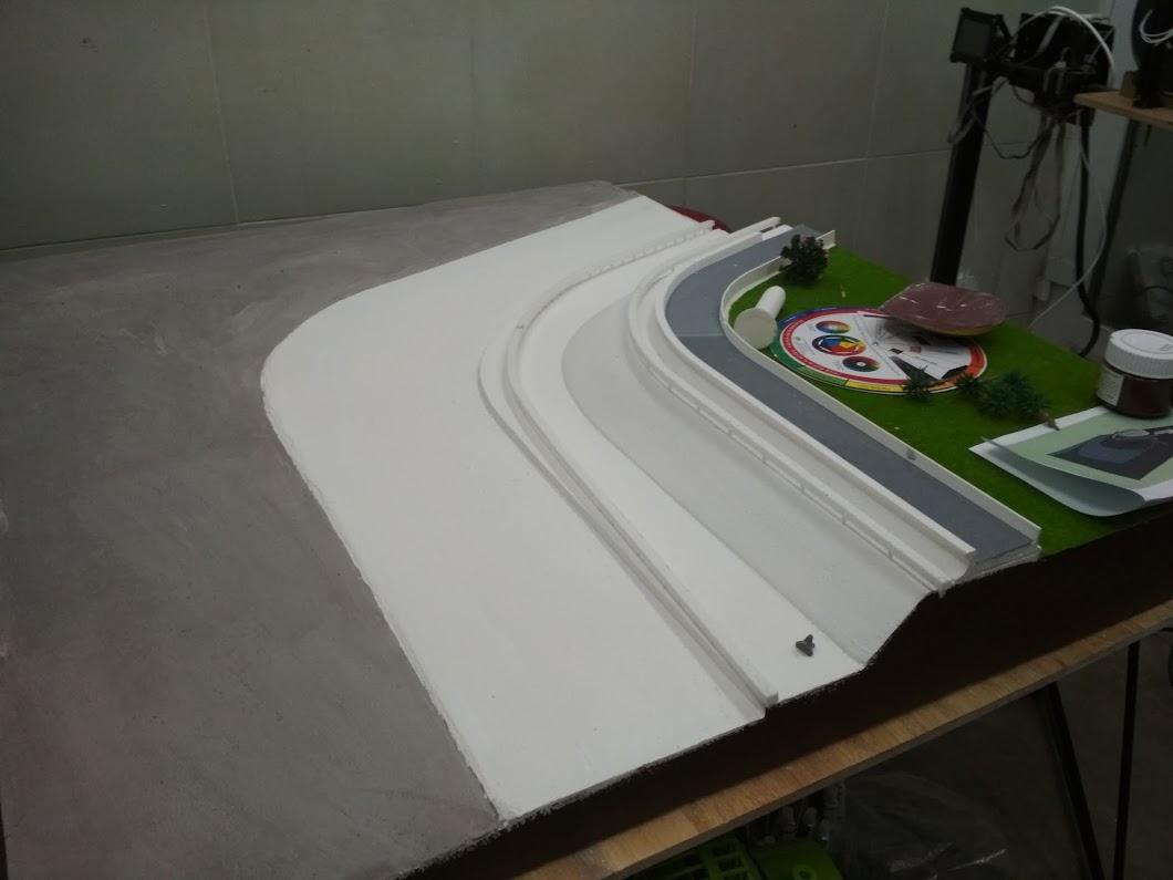 Một góc chụp khác của mô hình xốp