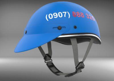 Thiết kế kiểu dáng nón bảo hiểm