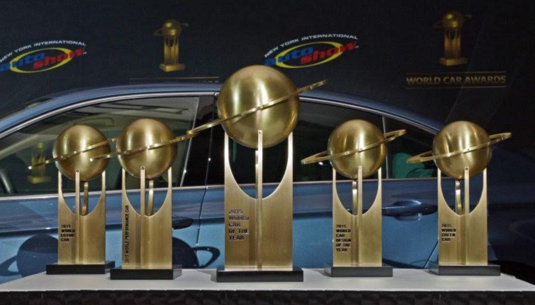 Cúp trưng bày - Volvo Cars -3D cúp