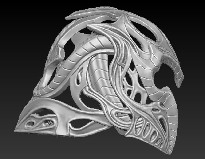 Thiết kế, tạo mẫu mặt nạ Xe/ Cosplay/ Decor
