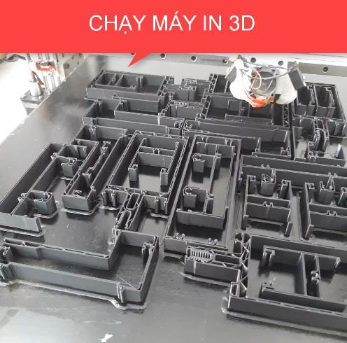 gia công in 3D trên máy in 3D khổ lớn (máy in 3D công nghiệp)