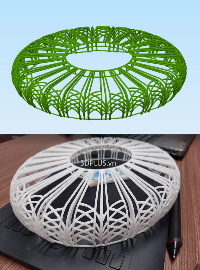 in 3D mô hình kiến trúc, in mẫu nhà, in 3D đồ án kiến trúc, in 3D SLA resin mịn đẹp