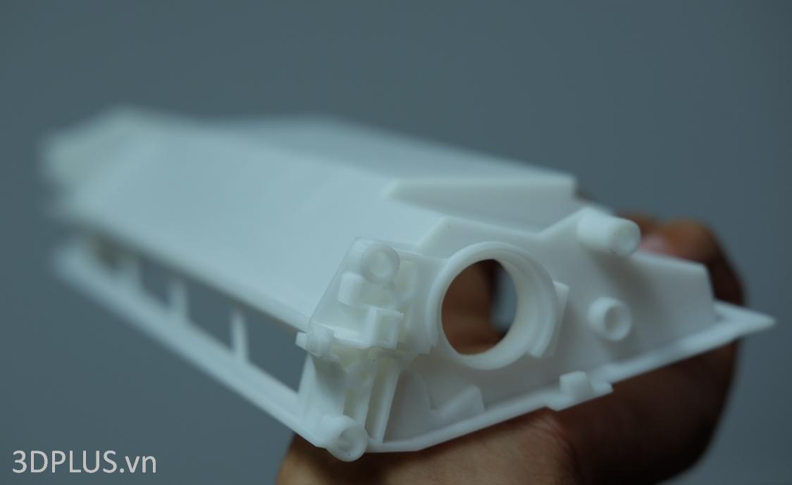 mau in 3D SLA resin dep