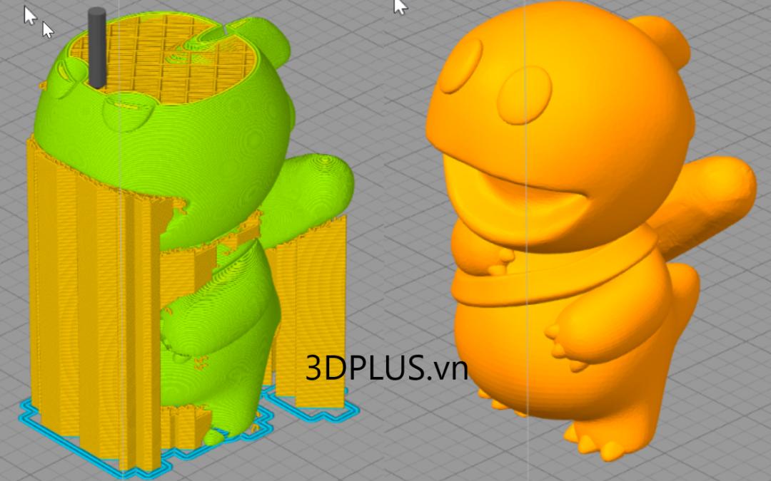 Trong ruột mẫu in 3D có gì đặc biệt?