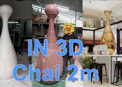 Mô hình trưng bày – chai nước hoa cao 2 mét!