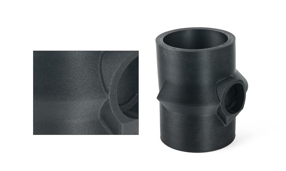 Mẫu sản phẩm được in 3D bằng chất liệu nhựa pha filber carbon
