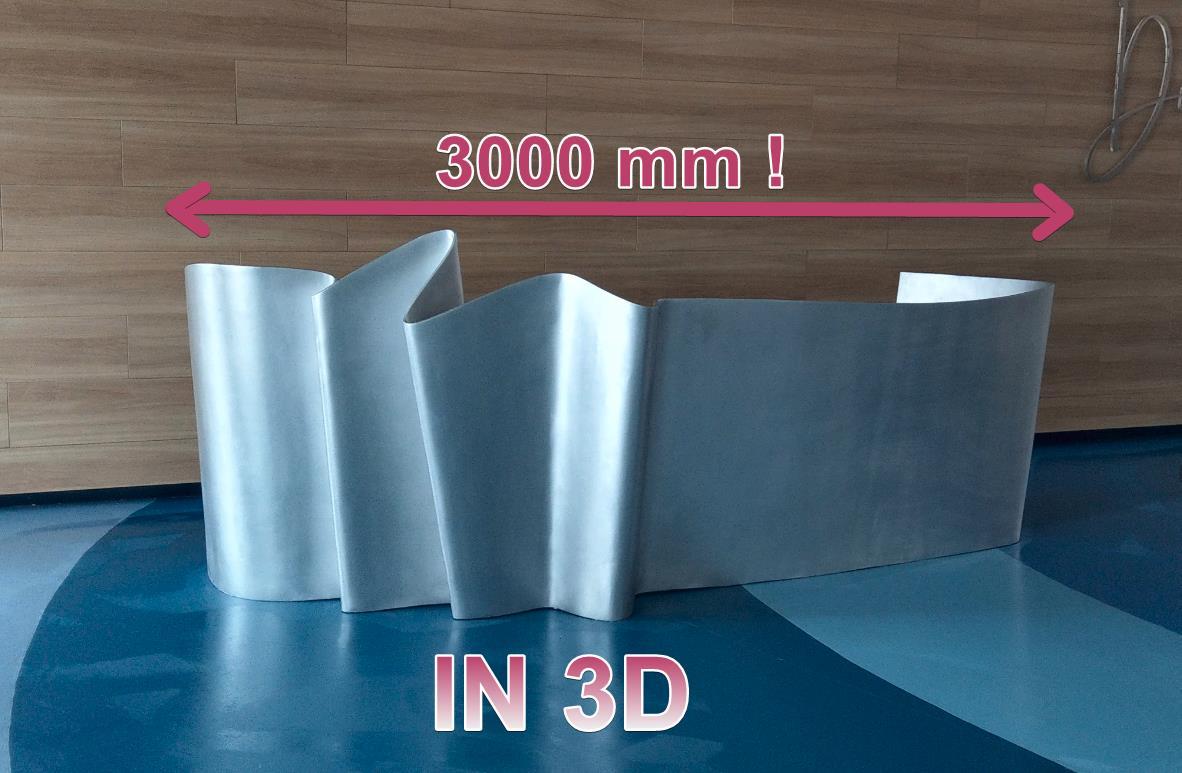 in 3d quầy tiếp tân, kiến trúc, in 3d nội thất, in 3d khổ lớn, big size 3d printing