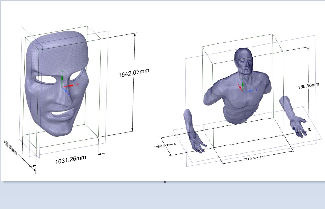 Dự án in 3D mô hình mặt nạ và tượng người phục vụ cho mục đích trang trí , decor nội thất, thiết kế và trưng bày