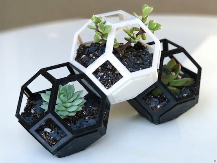 in 3D chậu cây, in 3D thau chậu