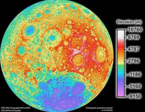 Từ năm 1971: Các phi hành đoàn tàu vũ trụ Apollo 15 sử dụng LIDAR để lập bản đồ bề mặt Mặt trăng